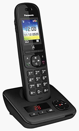 Panasonic TGH720 Telefono Cordless con Segreteria Telefonica, Blocco Chiamate Automatico, Base di Ricarica Inclusa