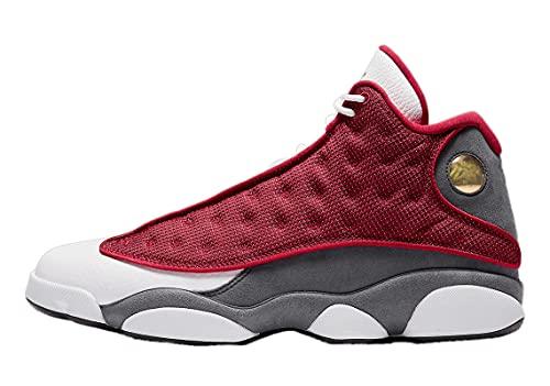 Jordan Hombres 13 Retro Rojo Flint Gym Rojo/Negro-Flint Gris-Blanco (DJ5982 600) -, (rojo/gris/blanco/negro), 45 EU