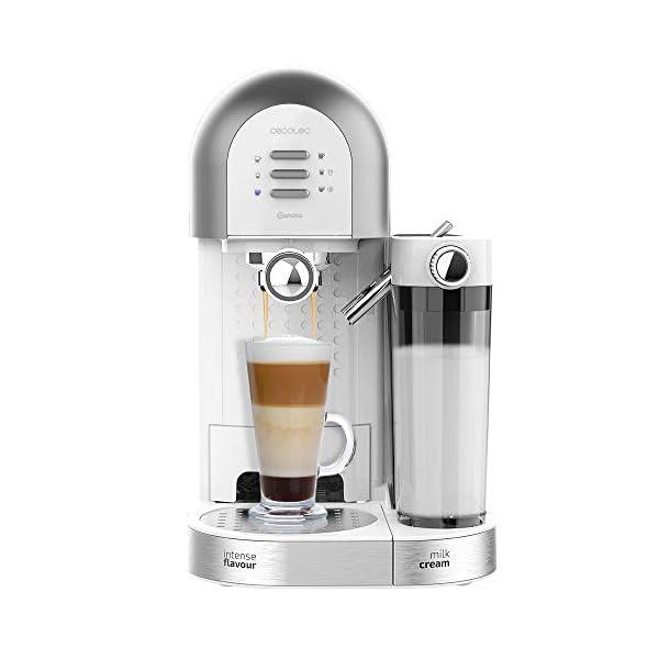 Cecotec Cafetera Semiautomática Power Instant-ccino 20 Chic Serie Bianca.