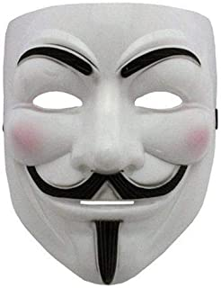 V for Vendetta Mask Anonymous Guy Fawkes Fancy Dress