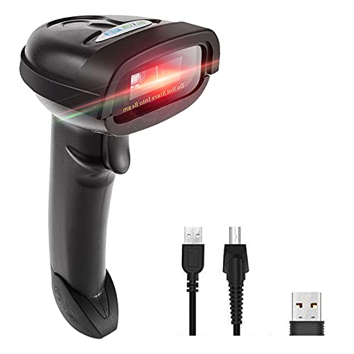 NT-1228BL Bluetooth QR 2D Barcode Scanner Handheld USB kabelloser 1D 2D Barcodes Imager für mobile Zahlung PC Bildschirm Scan Unterstützt IOS & Android