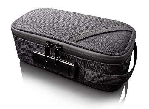 STASHIC Rolling Box, Geruchssichere Tasche, Verschliessbares Behältnis, Geheimversteck, Geruchsabsorbierendes Aktivkohle Innenfutter, Bewahrt Eure Rauchutensilien geruchssicher und gefahrlos auf