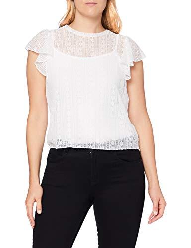 Pimkie TSS20 Troma Camiseta, Blanco, M para Mujer
