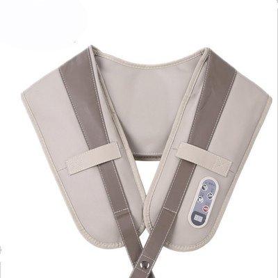 Hals Schulter Taille Rücken Hüfte Elektro-Massagegerät Hals Kneten Schmerzlinderung Entspannen Nackenmassage Auto Büro Und Home Weiß Vibration Infrarot-Timing-Funktion
