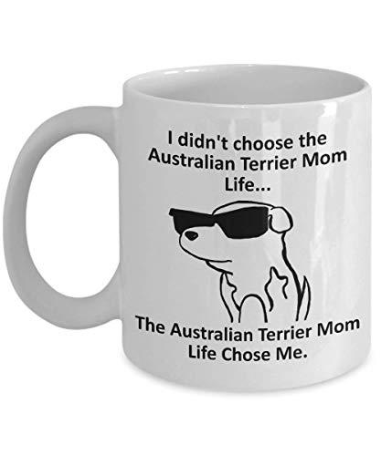 Tazza Magica Tazza da caffè Australian Terrier Mom Tazza con Frase e Disegno Divertente Migliore Tazza In Ceramica Idee Regali Originali