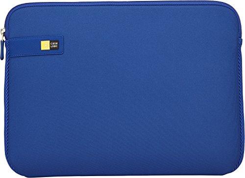 Case Logic LAPS Notebook Hülle für 13,3 Zoll Laptops (ultraschmales Sleeve, ImpactFoam Schaumpolsterung für Rundumschutz, Laptop Tasche ideal für Chromebook oder Ultrabook), Ion Blue