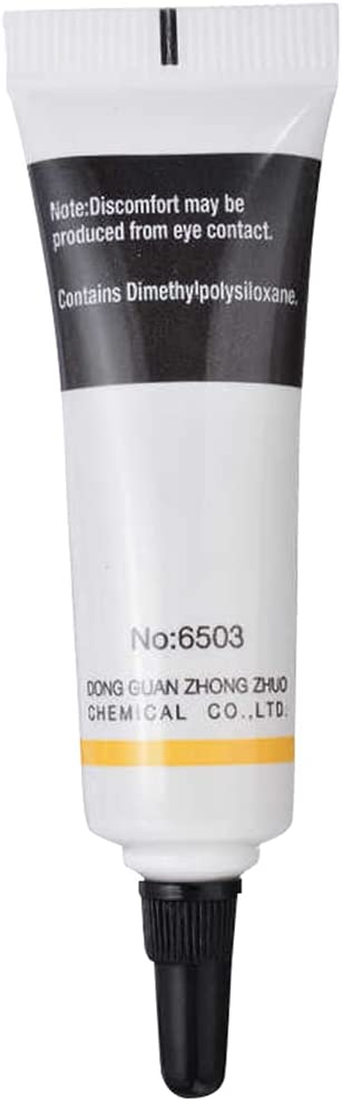 Wusuowei Waterproof Food Grade Silicone Lubricant Grease for O Rings Ring Faucet Plumbers 10g