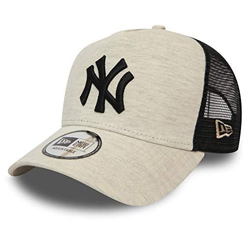 New Era A-Frame Trucker Cap - Jersey New York Yankees Creme