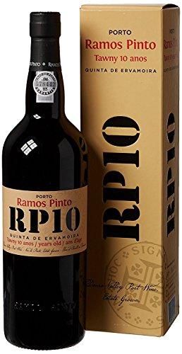 """Fondata nel 1880Ramos Pinto fu uno dei grandi pionieri della regione del douro Single quinta (Vineyard) Tawny Port per una media di 10anni confezionato in una splendida scatola regalo The Art Deco 'KISS """"L' immagine sul barattolo è uno degli storic..."""