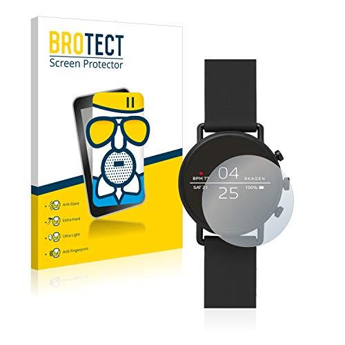 BROTECT Entspiegelungs-Panzerglasfolie kompatibel mit Skagen Smartwatch Falster 2 - Anti-Reflex Panzerglas Schutz-Folie Matt