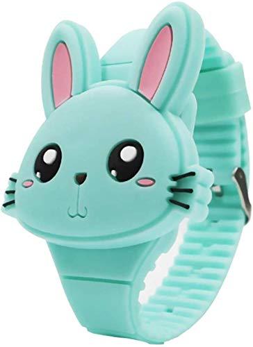 SGHH-UK Toy Watch For Bambini, Silicone Orologio Da Polso Del Fumetto Della Copertura Di Vibrazione Digitale Bambini Orologio Da Polso Impermeabile E Fallproof Orologi Al Quarzo Movimento Cronografico