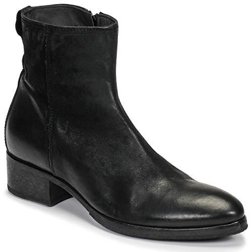 MOMA BANDOLERO Nero Stiefelletten/Boots Femmes Schwarz - 38 - Low Boots