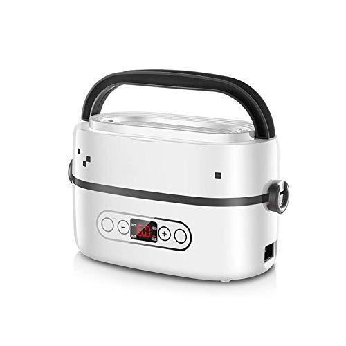 GUO Elektrische Lunch-Box, Heatbox Lunch Box, tragbare Lebensmittelwärmer, Reise tragbare Lebensmittelheizung abnehmbaren Edelstahl