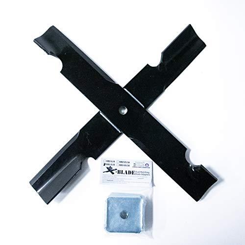 Ballard Inc X-Blade Dual Mulching Blade Adapters (3 Pack) (X-B3)