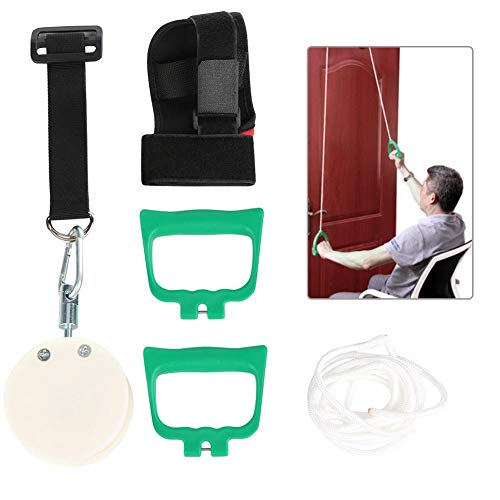 Ejercicios del sistema de polea para el hombro para la rehabilitación del manguito de los rotadores Sistema de ejercicios de rehabilitación del brazo Flexibilidad del hombro Estiramiento del rango de