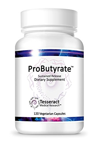Tesseract Medical Research ProButyrate, Butyric Acid 300mg, GI Supplement, 120 Capsules