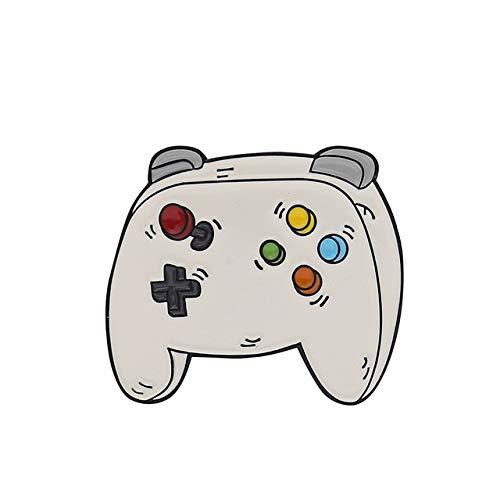 Brooche Arcade Game Emaille-Anstecknadeln, Sammlungen Cartoon 90er Jahre Gamepad Schmuck Broschen Denim Hemdkragen Abzeichen Revers 2