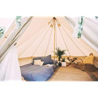 Bell Tent 4 metre with zipped in groundsheet by Bell Tent Boutique 18