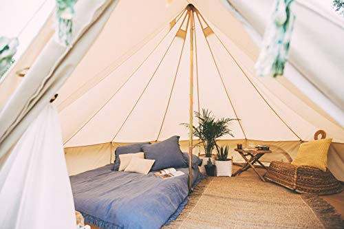 Bell Tent 4 metre with zipped in groundsheet by Bell Tent Boutique 1