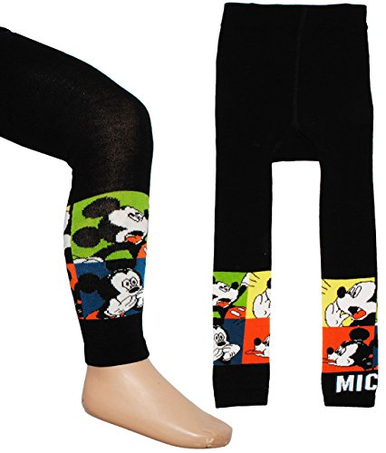 alles-meine.de GmbH Strick Leggings -  Disney Mickey Mouse  - Größe 3 bis 4 Jahre - Gr. 110 / 116 __ 80 % Baumwolle - Thermo gefüttert -...