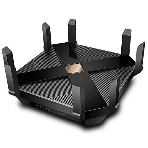 OFAY Router Wireless Router AX6000-Wifi, Router di Gioco Tri-Band WiFi, MU-Mimo, Coprocessore Quad-Core Y 2 CPU 1.8 GHz