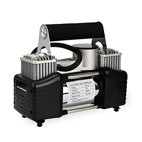 FAINT La Pompa di Aria per Auto 12V Portatile Pompa Aria Top Design di Dissipazione del Calore per Prevenire Ustioni Pompa d'Aria per Una varietà di Modelli
