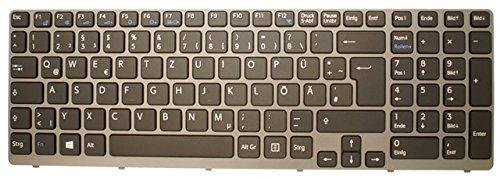 NExpert Orig. QWERTZ Tastatur für Sony Vaio SVE1511K1EW SVE1511W1ESI SVE151G13M Serie DE Neu