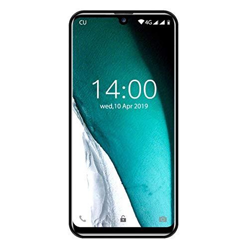 "OUKITEL C16 Pro Dual 4G Smartphone Libre, Android 9.0 Quad-Core Teléfono móvil,3GB RAM+ 32GB ROM,5.71"" HD+ 19:9 IPS Waterdrop Pantalla,Cámara 8MP+5MP,Batería 2600mAh,Face ID+Fingerprint+GPS (Negro)"