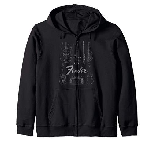 Fender Guitars & Amp Logo Zip Hoodie