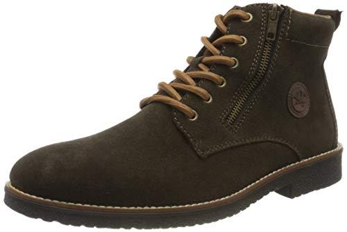 Rieker Herren 33643 Mode-Stiefel, braun, 43 EU