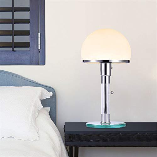 Schreibtischlampe Nordic Designer Led Tischleuchte Wilhelm Wagenfeld Bauhau Tischleuchte Schreibtischleuchten Schlafzimmer Nachttischlusen Glas Led Leuchten Leuchten