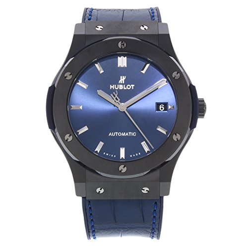 Hublot Classic Fusion Ceramic Blue 45mm Men's Watch