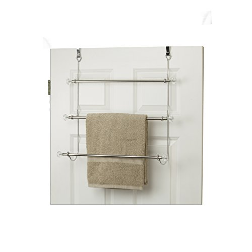 Home Basics Over The Door 3-Tier Towel Rack