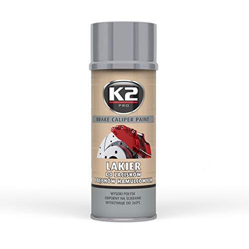 Bremssattel silber hochglanz Lack Spray 260°C hitzebeständig