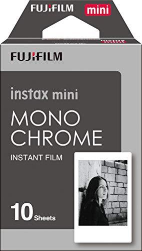Fujifilm Instax Mini Instant Film Monochrome 3-Pack Bundle Set, Mono Chrome (10 x 3 = 30) # 337556 for Mini 90 8 70 7s 50s 25 300 Camera SP-1 Printer