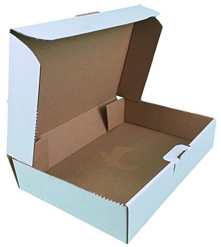 100 maxibrief dozen MB1 wit 160 x110 x 50 mm doos DHL post goederen verzending dimapax