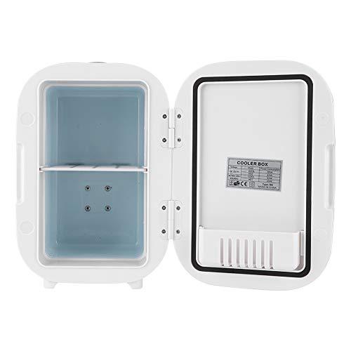 Qioniky Frigorifero da 6 Litri, Frigorifero Elettrico, Mini frigo per Auto per Alimenti per Il Trucco(220V, European Standard)