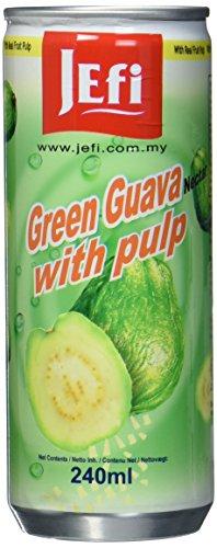 Jefi Drinks Guave mit Fruchtfleisch Ds, 15er Pack (15 x 240 g)