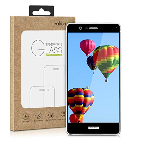 kalibri Protector de Pantalla Compatible con Huawei P9 Lite - Cristal Templado...