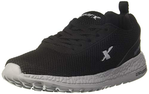 Sparx Men Black Grey Running Shoes-9 UK (43 1/3 EU) (SX0414G_BKGY0009)
