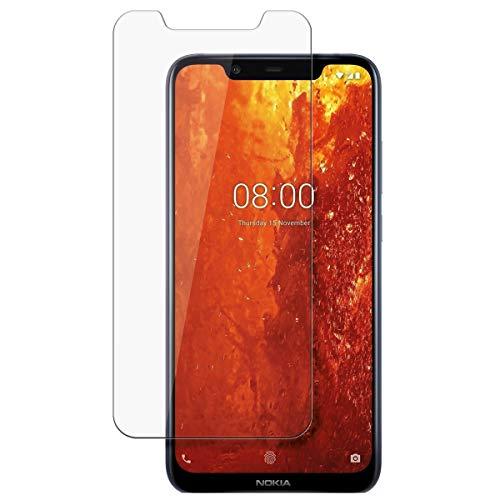 disGuard Schutzfolie für Nokia 8.1 [2 Stück] Entspiegelnde Bildschirmschutzfolie, MATT, Glasfolie, Panzerglas-Folie, Bildschirmschutz, Hoher Festigkeitgrad, Glasschutz, Anti-Reflex
