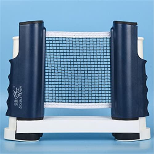 ZzheHou Red De Ping Pong Tabla de Pong Rack con Juego de Red portátil portátil libremente retráctil Interior y al Aire Libre Tenis de Tenis de Tenis de Mesa de Billar de Billar.