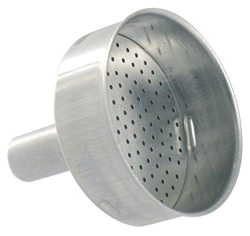 Trichter Aluminium 1Tasse–für Kaffeemaschine Moka und Junior