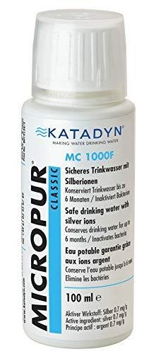 KATADYN purificación de Agua Micropur 1000f, Blanco, 54.000