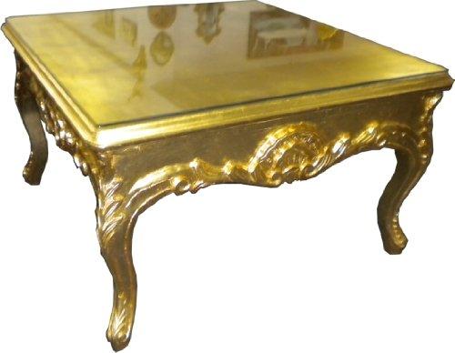 Prunk Couch Tisch Wohnzimmer Beistelltisch Gold Antik - Couchtisch - Tisch Wohnzimmer