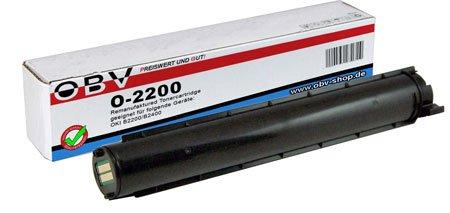 OBV kompatibler Toner für OKI B2200 B2400 B2400B B2400N ersetzt 43640302 schwarz 2000 Seiten