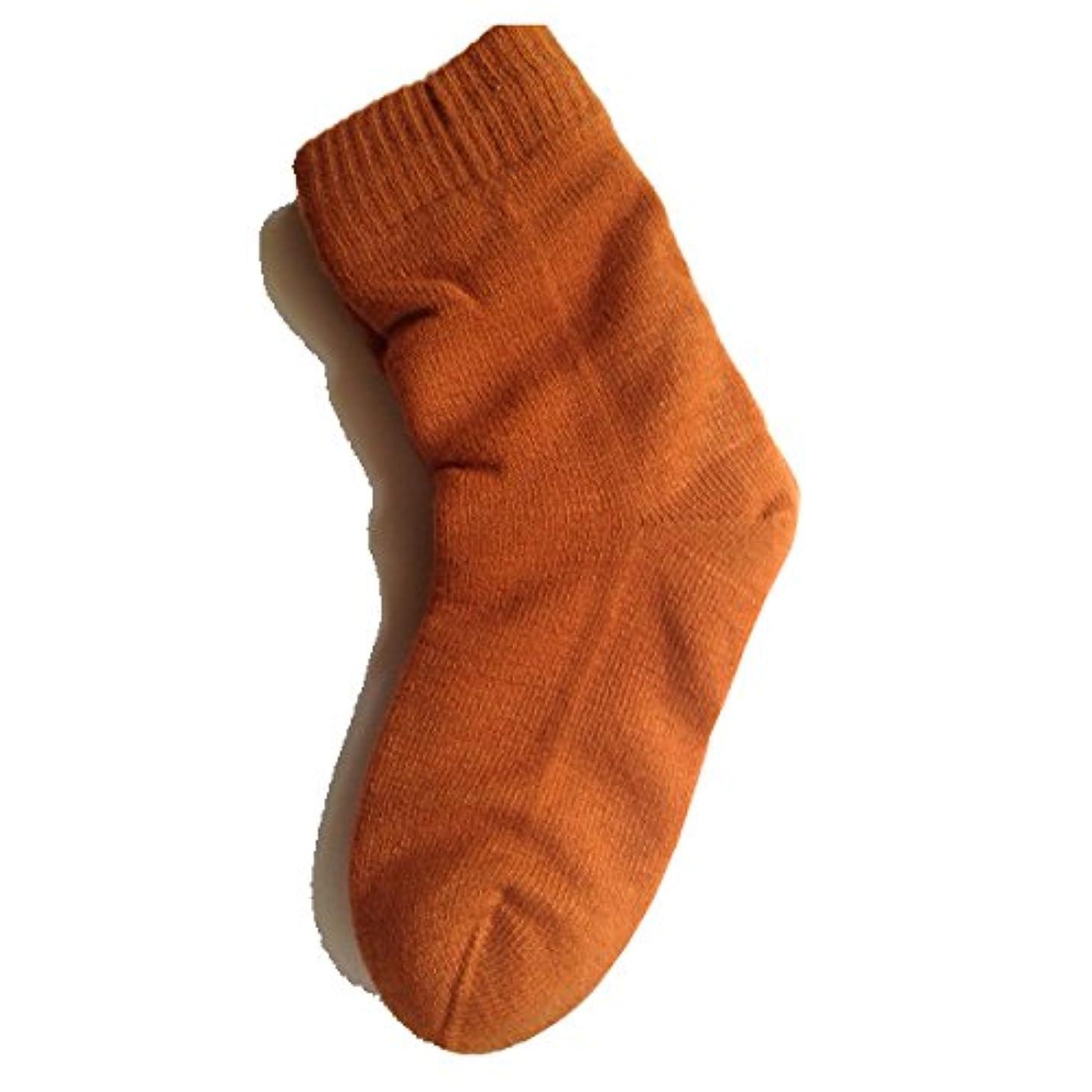 防腐剤教会ながら女性用 カサカサかかと解消靴下 ラブヒール パーシアンレッド 【遠赤外線パワー&温熱?保湿効果】