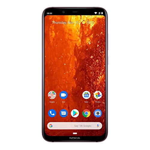 Nokia 8.1 Dual SIM Smartphone (15, 69 cm (6, 18 Zoll) Full HD+ Display, 64 GB interner Speicher, Android 9 Pie) - Iron