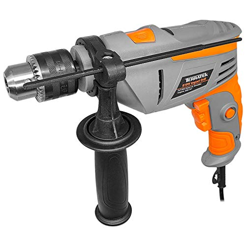 Terratek 810W Powerful Variable Speed Electric Hammer Drill