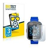 BROTECT Protector Pantalla Cristal Mate Compatible con Vtech Kidizoom Smart Watch DX2 Protector Pantalla Anti-Reflejos Vidrio, AirGlass (3 Unidades)